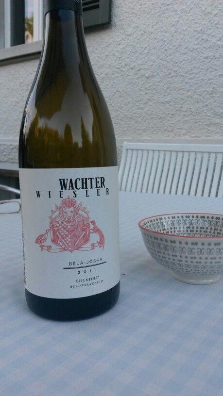 wachter wiesler - béla-jóska - 2011 - neue flaschr - noch immer puristisch gut