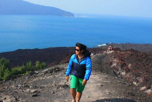 Its me at krakatau island