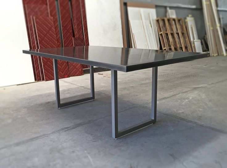Diy Polished Concrete Dining Table: 16 Best Cement Furniture Images On Pinterest