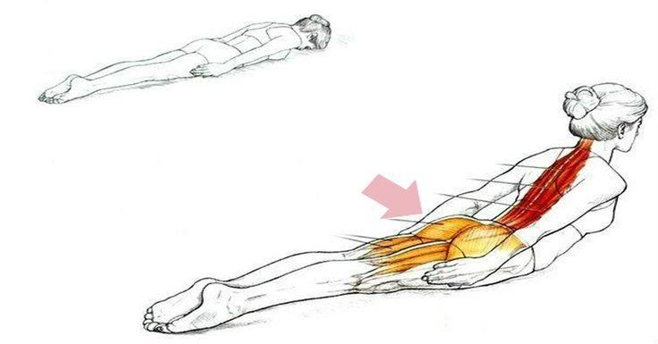 Супер упражнение, которое избавит Вас от боли в спине! Читать ВСЕМ!