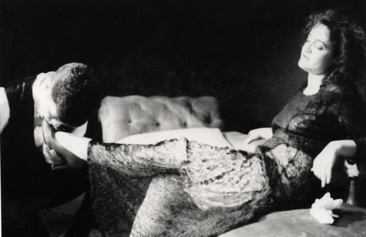 Angelique Rockas as Miss Julie humiliating Jean in the  highly praised Internationalist Theatre London  production of Strindberg`s `Miss Julie`. https://www.flickr.com/photos/internationalist_theatre_rockas/albums/72157627985069195 https://en.wikipedia.org/wiki/Internationalist_Theatre https://flic.kr/p/bkWbr8