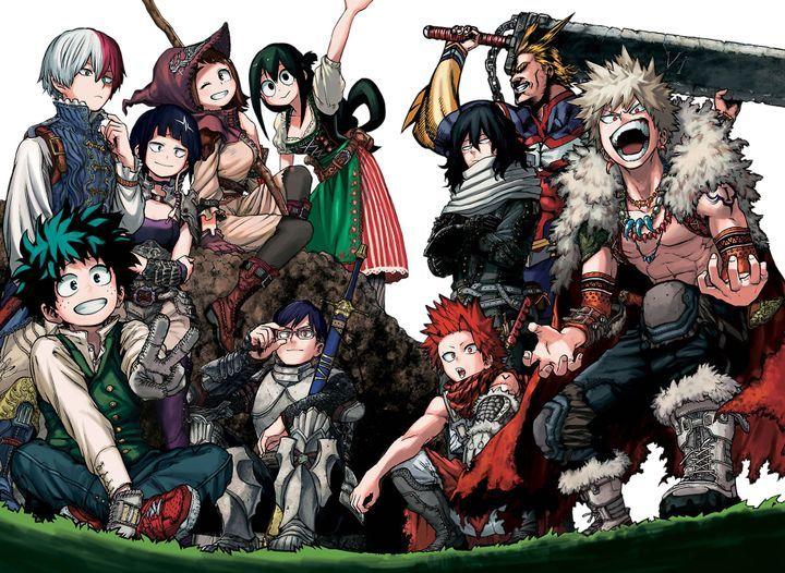 Random Pics So I Dont Lose Them Bnha Mha 5 Anime Anime Wallpaper Hero Wallpaper