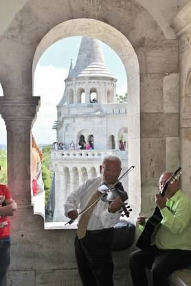 Jenny's Life In Pictures - Fisherman's Bastion, Budapest, Hungary