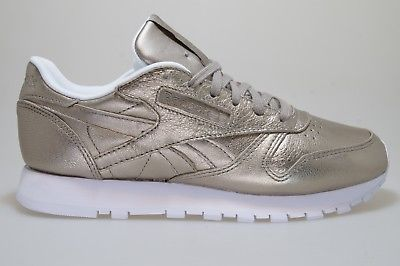 105f1a15064 Reebok classic leather melted metal women gold BS7898 Gigi Hadid shoes