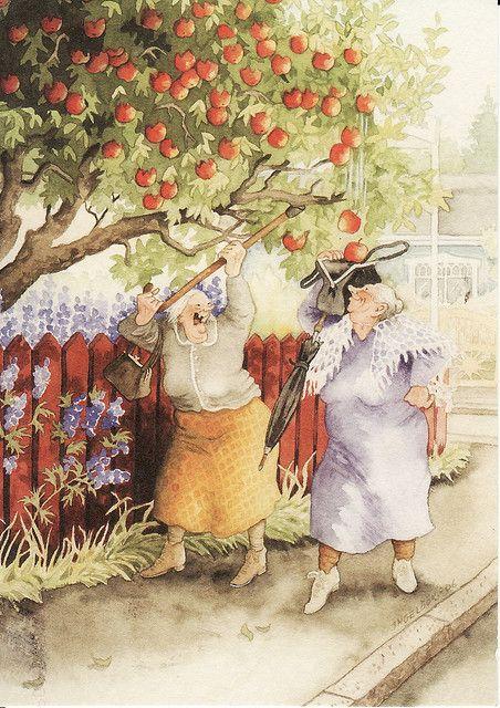 Grannies by Inge Löök