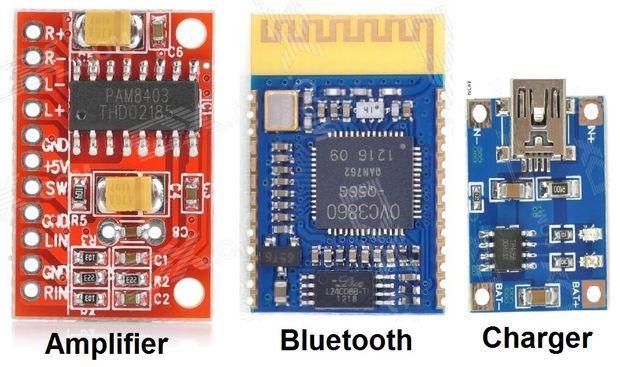 diy bluetooth speaker by ascas sensing and sensors. Black Bedroom Furniture Sets. Home Design Ideas
