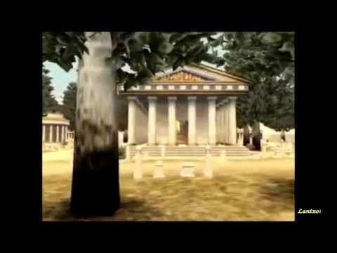 Ancient Greece in a 3D travel