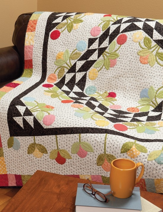 A Little Bit Biased - I love this quilt, it is so Mary Englebright.