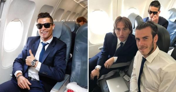 Ronaldo and his boys are all smiles as they fly to Germany to face Bayern Munich #fashion #style #stylish #love #me #cute #photooftheday #nails #hair #beauty #beautiful #design #model #dress #shoes #heels #styles #outfit #purse #jewelry #shopping #glam #cheerfriends #bestfriends #cheer #friends #indianapolis #cheerleader #allstarcheer #cheercomp  #sale #shop #onlineshopping #dance #cheers #cheerislife #beautyproducts #hairgoals #pink #hotpink #sparkle #heart #hairspray #hairstyles…
