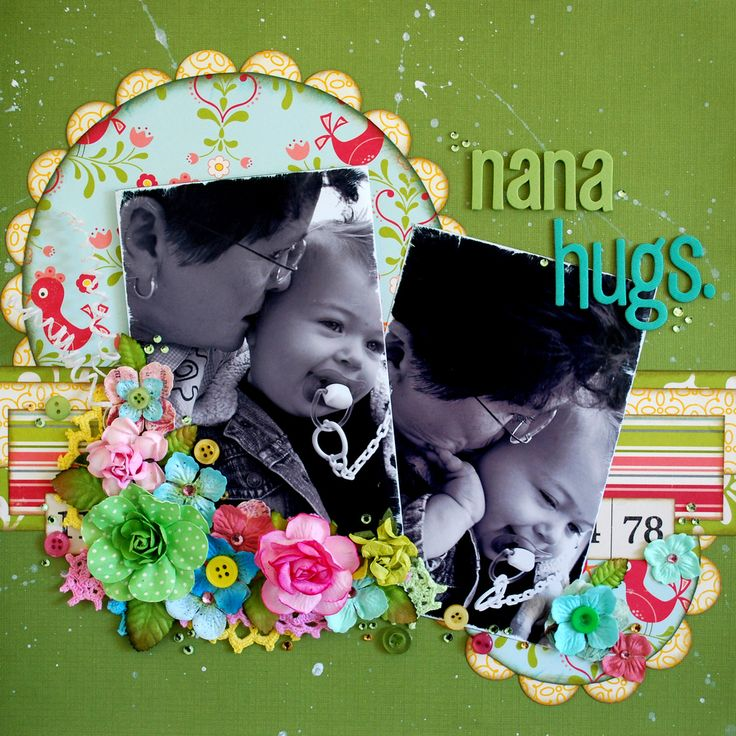 https://flic.kr/p/8sGsmC | NANA HUGS | October Afternoon Cherry Hill papers and…