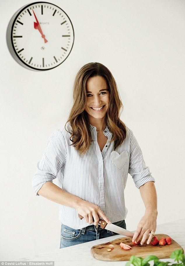 Pippa Middleton uważa, że przygotowanie zdrowych i smacznych posiłków dla jej rodziny jest jedną z największych przyjemności życia