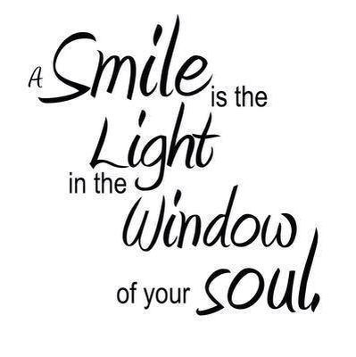 Smile and your soul
