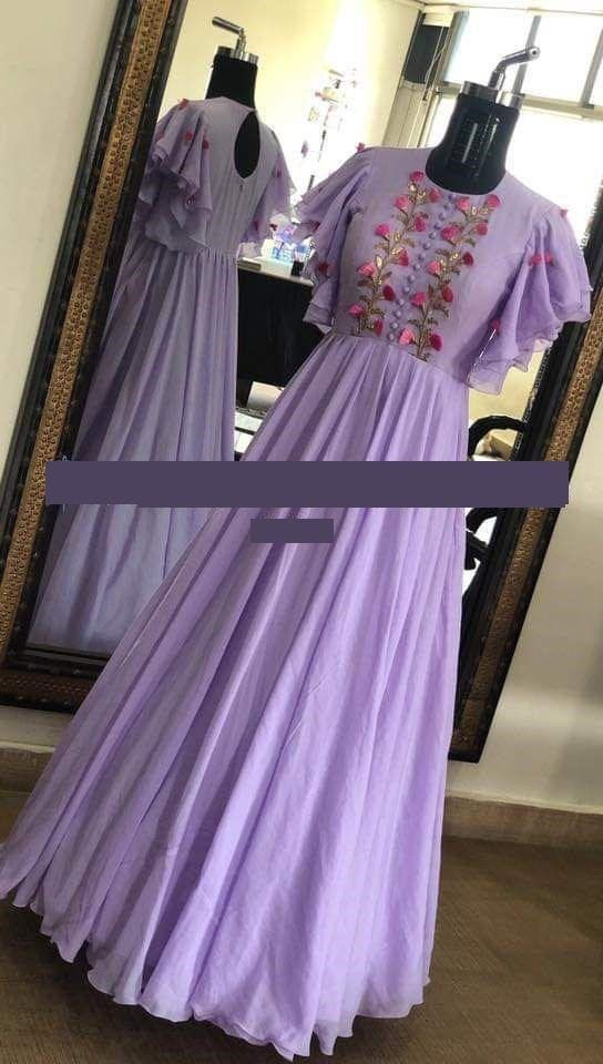 Indian Pakistani Dress For Wedding Indowestern Gown Embroidery Etsy Indian Gowns Dresses Indowestern Gowns Long Dress Design