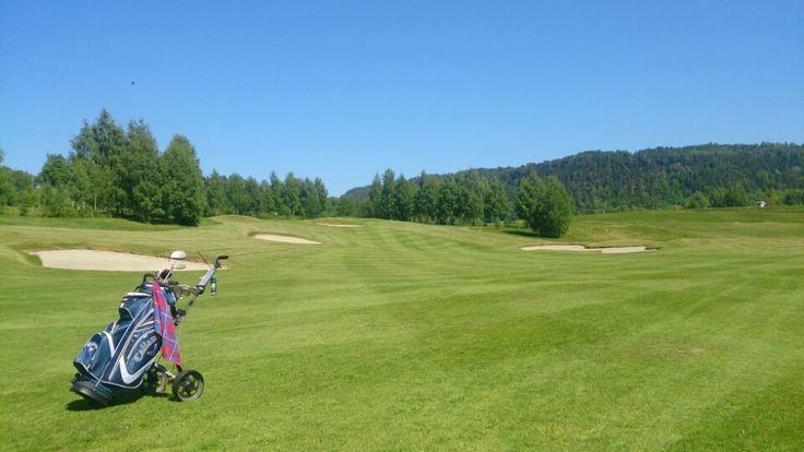 Kongsberg Golfklubb i Kongsberg, Buskerud  Start place