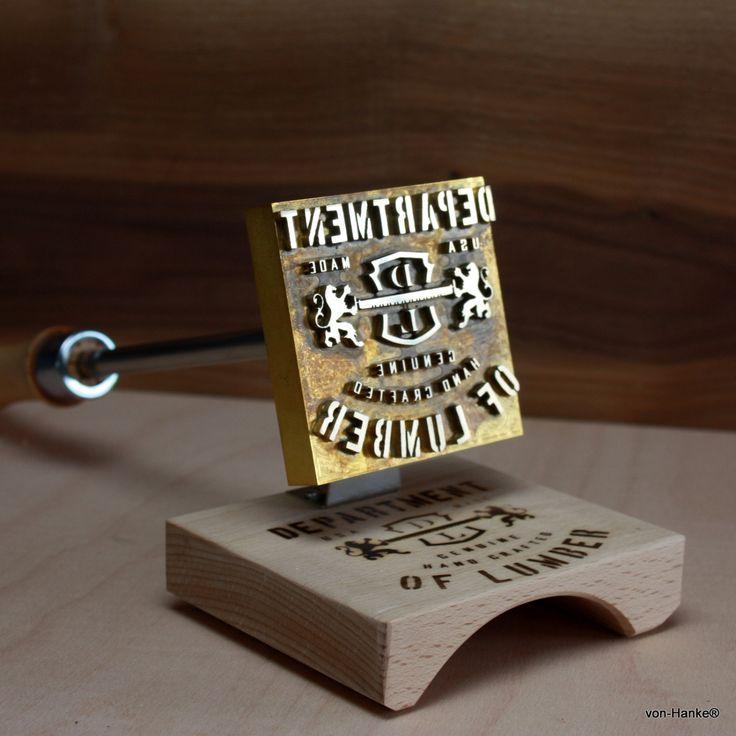 Custom Logo Branding Iron- made of brass by vonHanke on Etsy