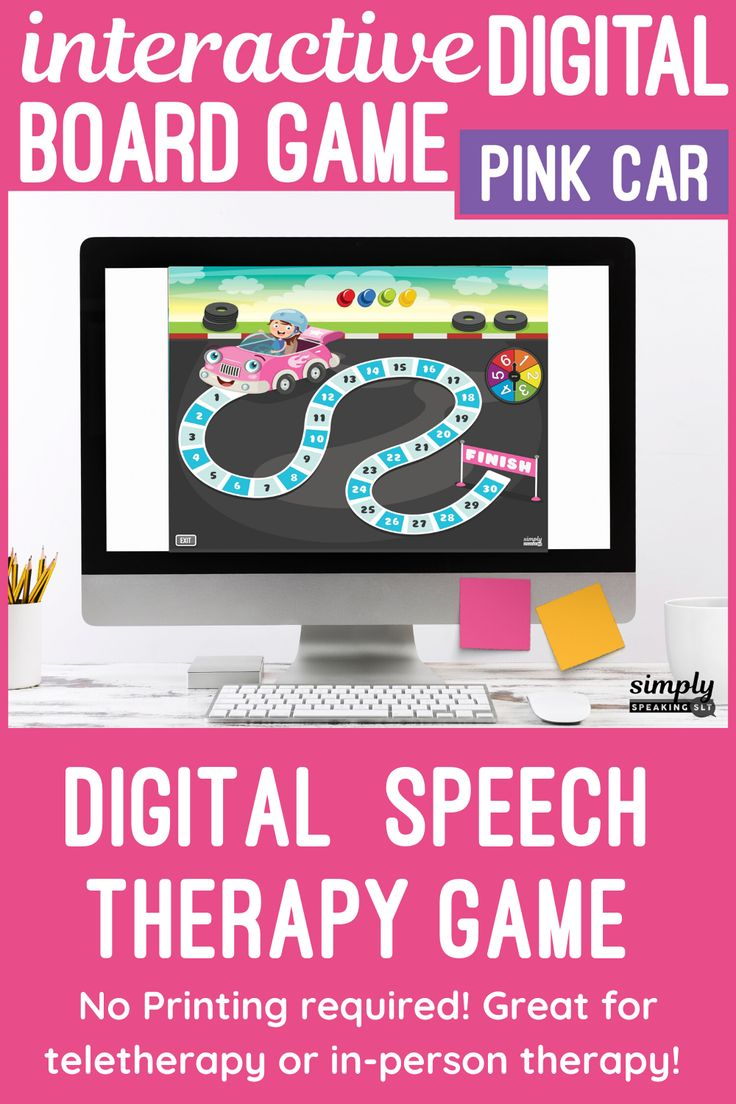 17++ Online interactive speech therapy games mode