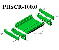 Profile PCB Holders DIN Rail or Panel Mount Universal mounting for 73 & 108 mm width PCB  Legth : 1 meter and 2 meter & custom length & in Pre-assembled kit form . Application : Interface modules for Relars, Din Connectors,  Flat Cable Connectors also Modules like Relay modules, Opto - coupler modules, Switch modules #GaurangEnclosures #DinRailPcbHolders #PCB #DinRailEnclosures #PlasticEnclosures #WallMountEnclosures #ElectronicEnclosures #Enclosures Mfg: www.gaurang.com