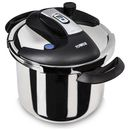 Tower One Touch Pressure Cooker 6L - Stainless Join the pressure cooker revolution! Tower pressure cookers cook food in around a third of the time, preserve 95 percent of the vitamins and nutrients, and use almost 90 percent less fuel. Use your To http://www.MightGet.com/january-2017-11/tower-one-touch-pressure-cooker-6l--stainless.asp