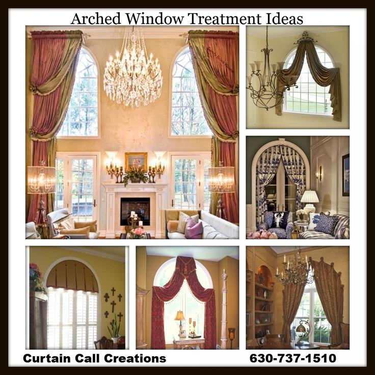 the 25 best arch window treatments ideas on pinterest. Black Bedroom Furniture Sets. Home Design Ideas