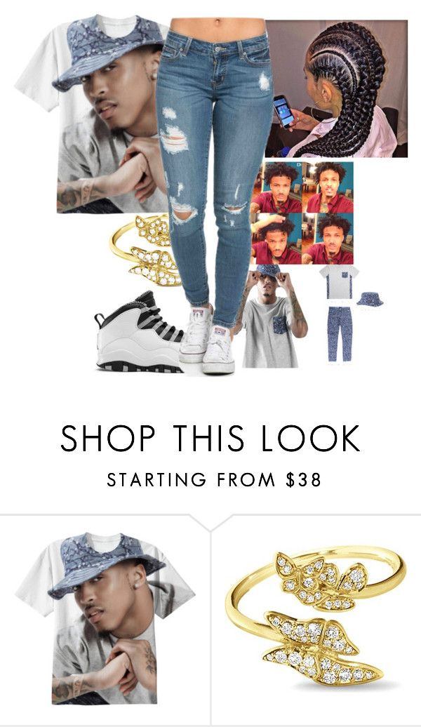 """""""song cry~AUGUST ALSINA"""" by juske ❤ liked on Polyvore featuring Georg Jensen and RockSmith"""