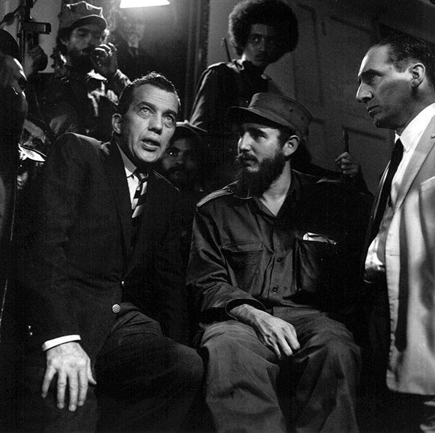 Con Ed Sullivan en 1959.