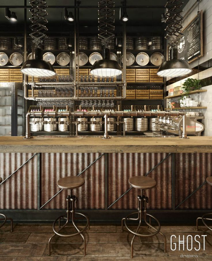 Restaurant Bar Interior Design: Smokehouse Restaurant At VWArtclub