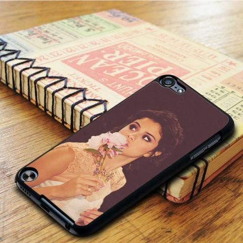 Selena Gomez Flower Singer iPod 5 Touch Case