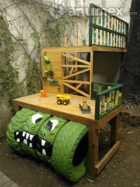 17 mejores ideas sobre casita de juego para ni as en pinterest casa de juegos exterior for Juegos para jardin nios