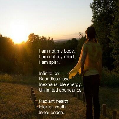 Inner peace poem (affirmation)