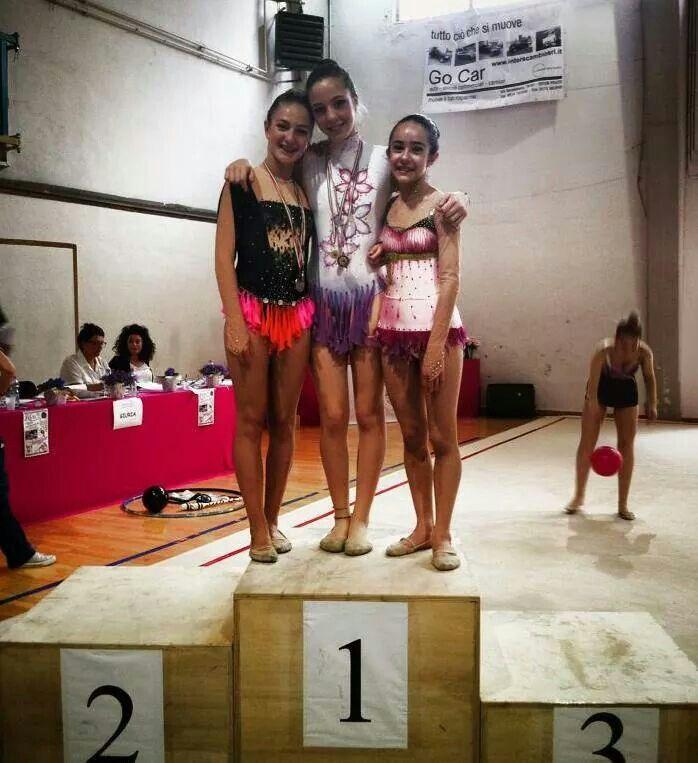 Noemi, Vittoria ed Elisa- trofeo Incisa 2014