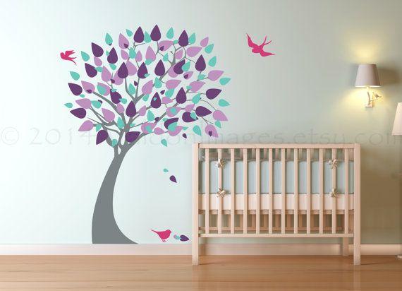 Best 25 Bird Wall Decals Ideas On Pinterest Tree Wall