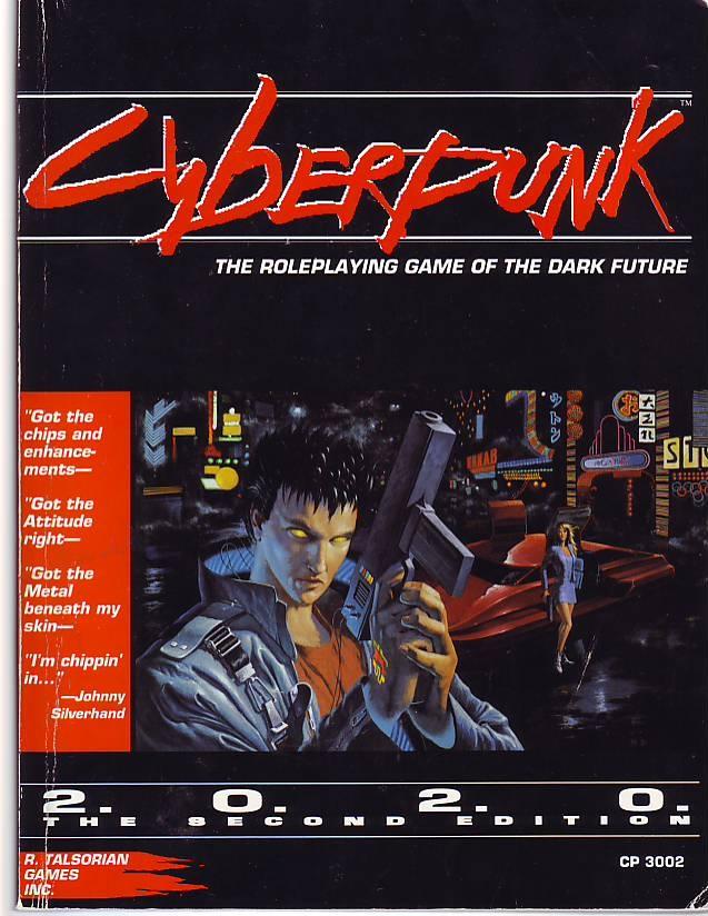 cyberpunk 2020 core rulebook pdf