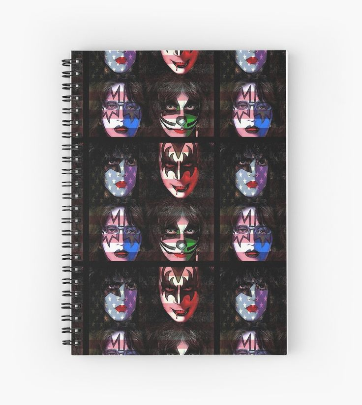 KISS Patriotic Rock l Hardcover Journals Also Available