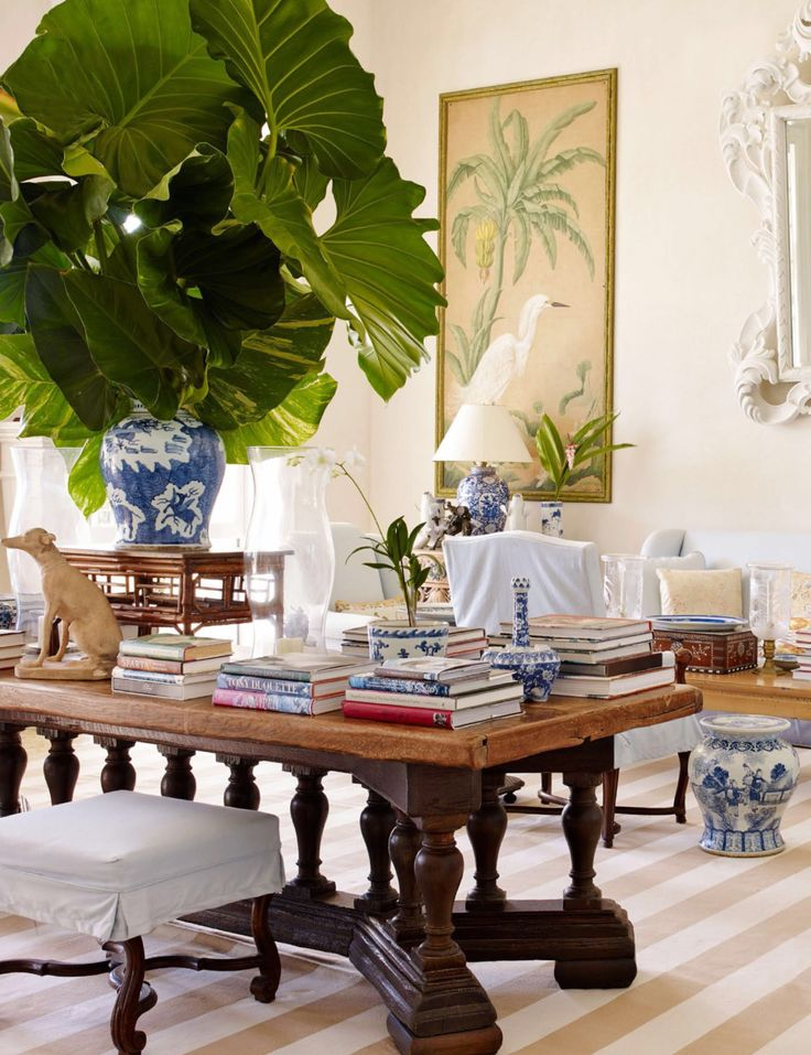 """visualjunkee: """" DOMINICAN DREAM -photography: William Wldron - styling: Howard Christian - text: Chloe Malle - location: Punta Cana, Dominican Republic - AD June 2017 • """"The living-room furniture,..."""