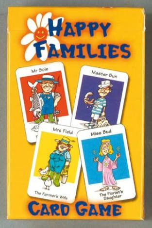 Image result for happy families card game