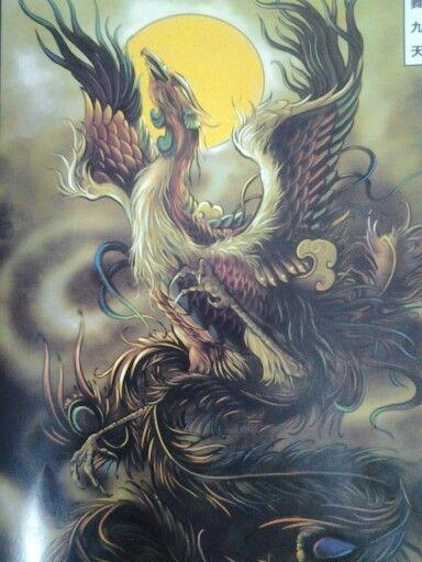 1019 best phoenix images on pinterest birds phoenix and for Huma bird tattoo