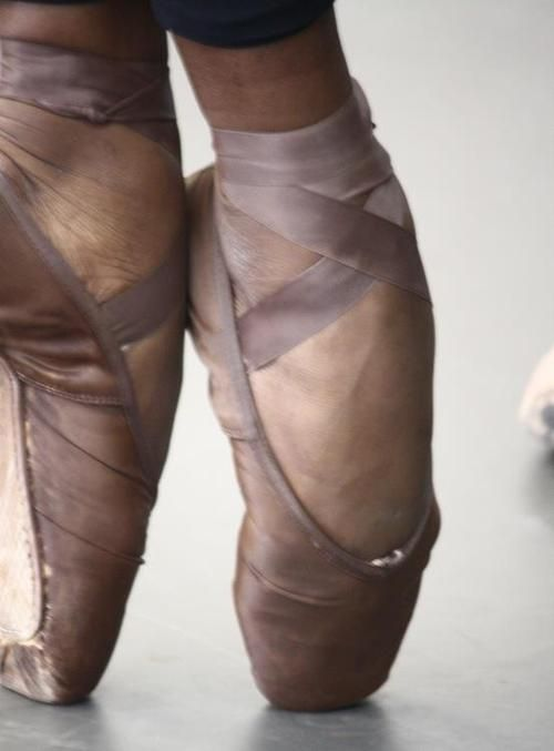 pointe shoes as they really are for daily ballet practice