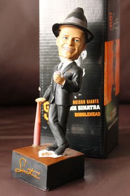 FRANK SINATRA TRIBUTE NIGHT BOBBLEHEAD 8/13/12 SAN FRANCISCO GIANTS
