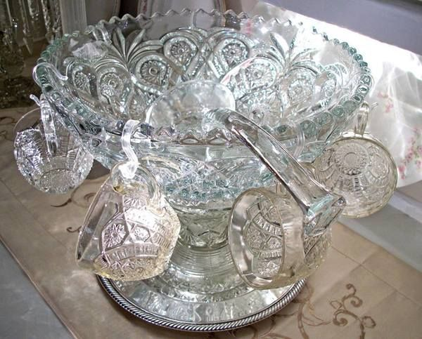 335 best images about vintage punch bowls and cut glass on pinterest antiques water pitchers. Black Bedroom Furniture Sets. Home Design Ideas