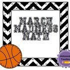 Students will choose their own team in the March Madness tournament and find the data landmarks for the points that team scored throughout the year...