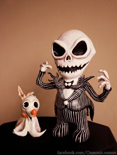 """""""The Nightmare Before Christmas"""" toys"""