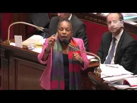 La Politique Quand Christianne Taubira déclame un poème de Léon Gontran DAMAS - http://pouvoirpolitique.com/quand-christianne-taubira-declame-un-poeme-de-leon-gontran-damas/