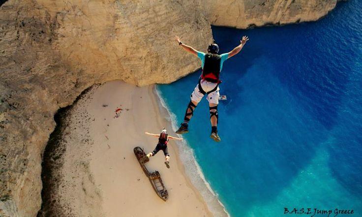 #love #basejumping in #zakinthos #zakynthos #greece #basejump #basejumpers #travel #travelgram #travelling #extremesports #xtremespots #xtremespotsgram #flysports #flyspots #follow