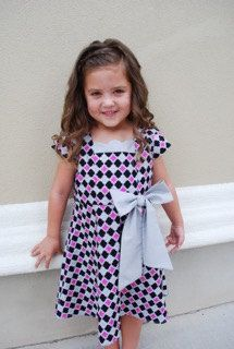 Little Girls Darling Party Dress by sewsocutie on Etsy