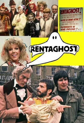 Rentaghost with Mr Davenport, Mr Mumford, and Mr Claypole. Also Miss Popov, who found later fame as Audrey in Coronation Street.