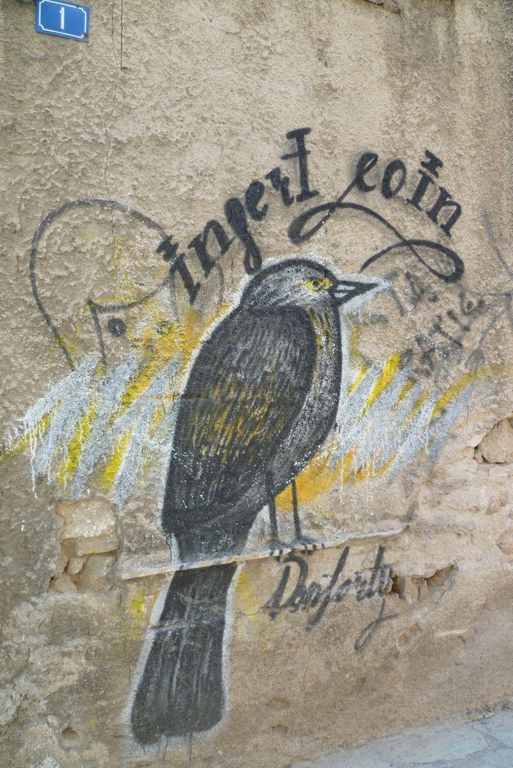 Wall in Gazi, Athens
