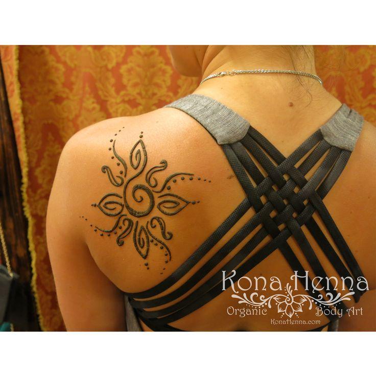 Organic Henna Products. Professional Henna Studio. KonaHenna.com #sun