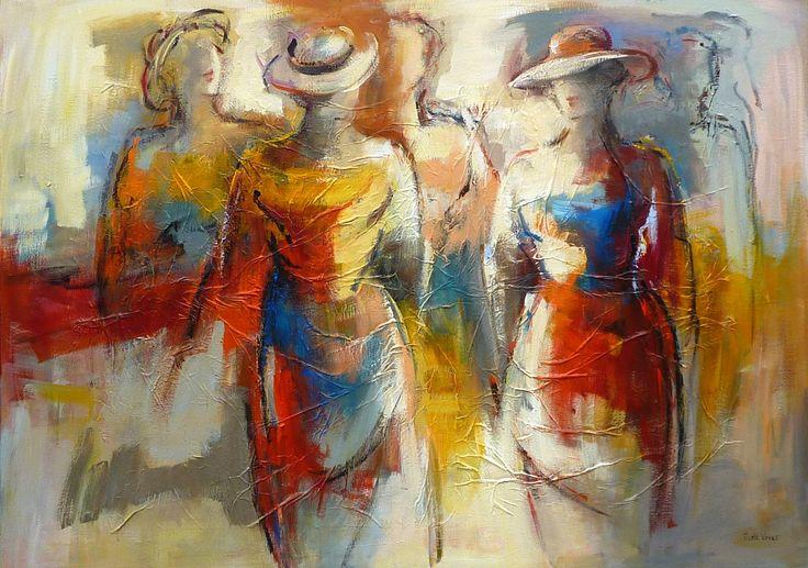 Van figuratief naar abstract - Google zoeken | painting ...