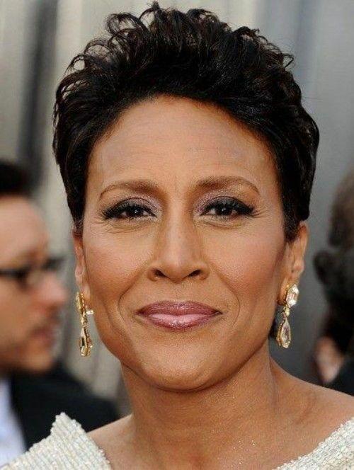 Short hairstyles for Black Women Over 50 #shorthairstylesforwomen