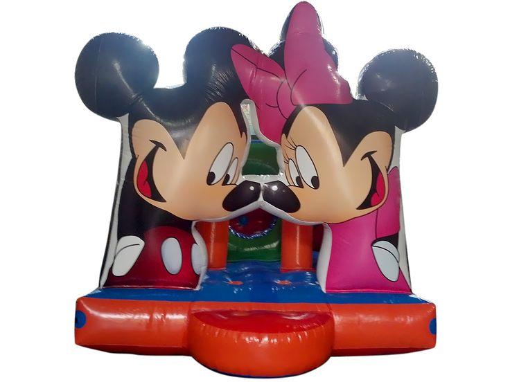 BIBI BRINQUEDOS Balão Pula Pula Mickey e Minnie - BIBI BRINQUEDOS